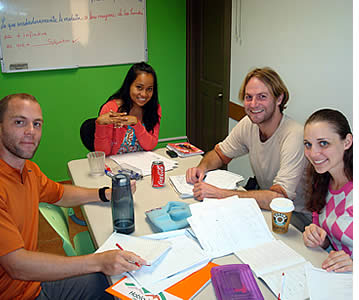 Spanish students at Habla Ya Language Center
